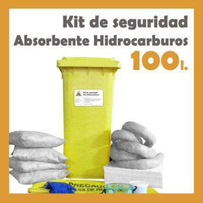 pack 100 litros kit contenedor